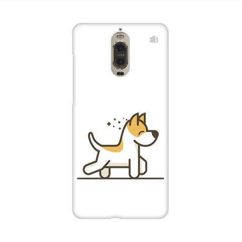 Happy Puppy Huawei Mate 9 Pro Design Phone Cover