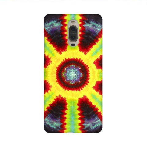 Tie & Die Pattern Huawei Mate 9 Pro Design Phone Cover