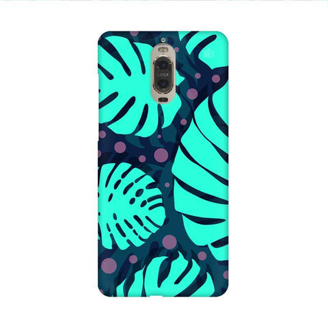 Tropical Leaves Pattern Huawei Mate 9 Pro Design Phone Cover