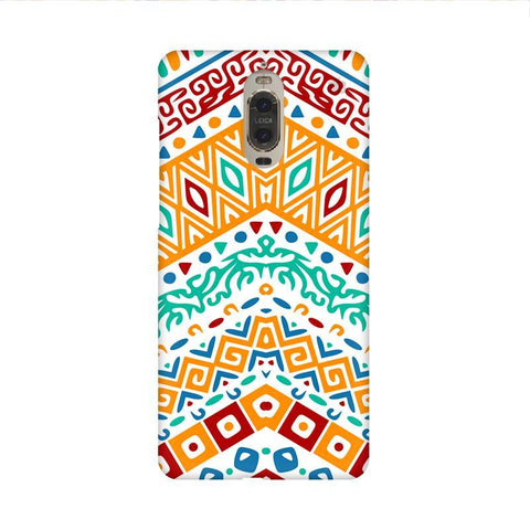Wavy Ethnic Art Huawei Mate 9 Pro Design Phone Cover
