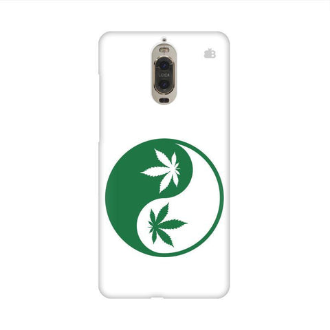 Weed Yin Yang Huawei Mate 9 Pro Design Phone Cover