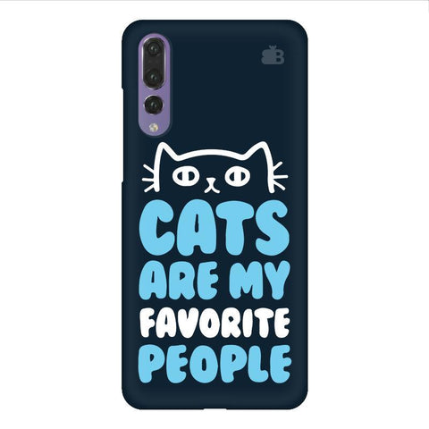 Cats favorite People Huawei P20 Design Phone Cover