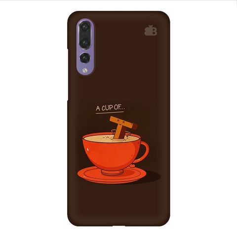Cup of Tea Huawei P20 Design Phone Cover