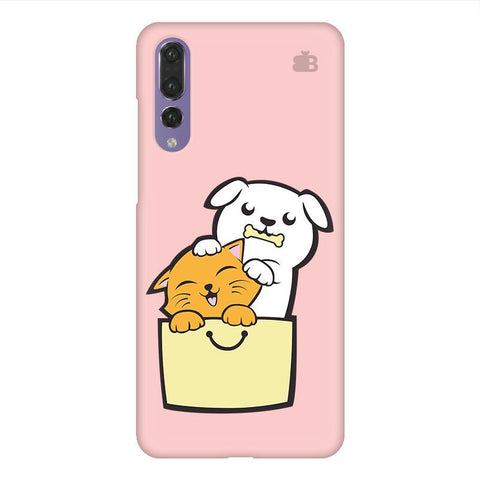 Kitty Puppy Buddies Huawei P20 Design Phone Cover