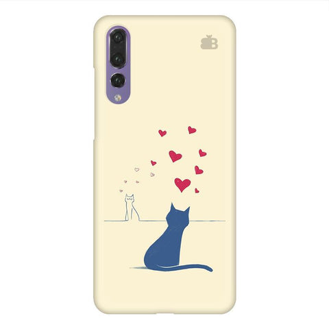 Kitty in Love Huawei P20 Design Phone Cover