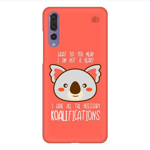 Koalifications Huawei P20 Design Phone Cover