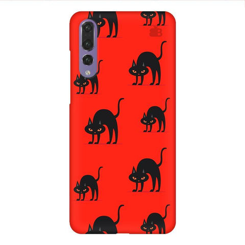 Scary Cats Huawei P20 Design Phone Cover