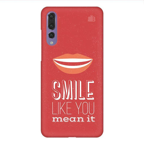 Smile Huawei P20 Design Phone Cover