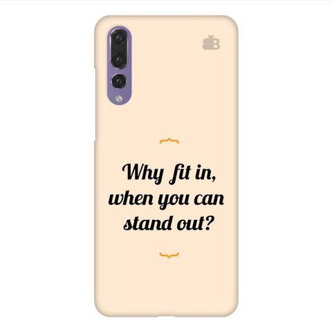 Stand Out Huawei P20 Design Phone Cover