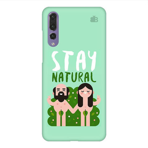 Stay Natural Huawei P20 Design Phone Cover