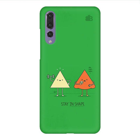 Stay in Shape Huawei P20 Design Phone Cover