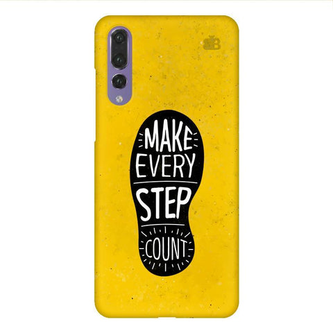 Step Count Huawei P20 Design Phone Cover