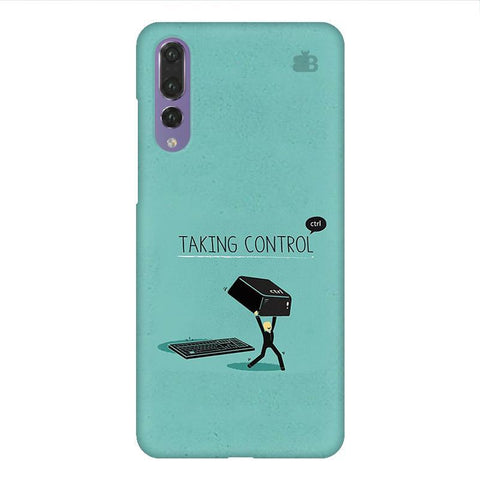 Taking Control Huawei P20 Design Phone Cover