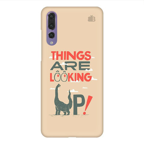 Things are looking Up Huawei P20 Design Phone Cover
