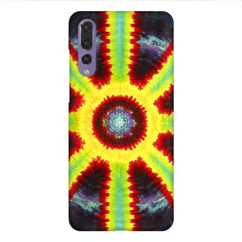Tie & Die Pattern Huawei P20 Design Phone Cover