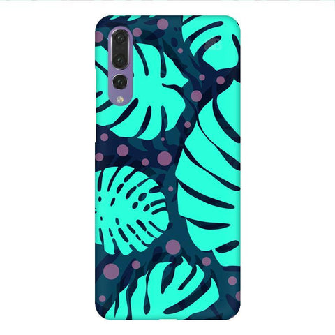 Tropical Leaves Pattern Huawei P20 Design Phone Cover