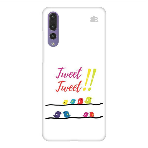 Tweet Tweet Huawei P20 Design Phone Cover