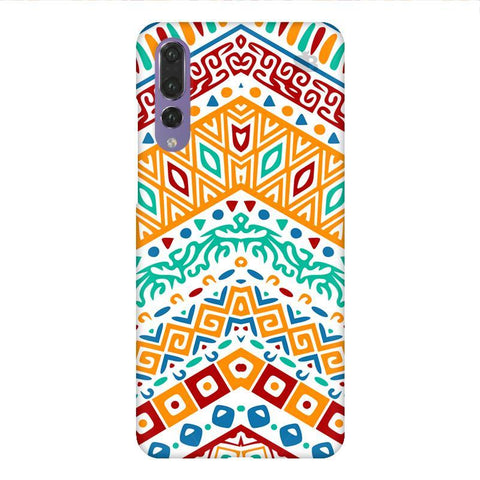 Wavy Ethnic Art Huawei P20 Design Phone Cover