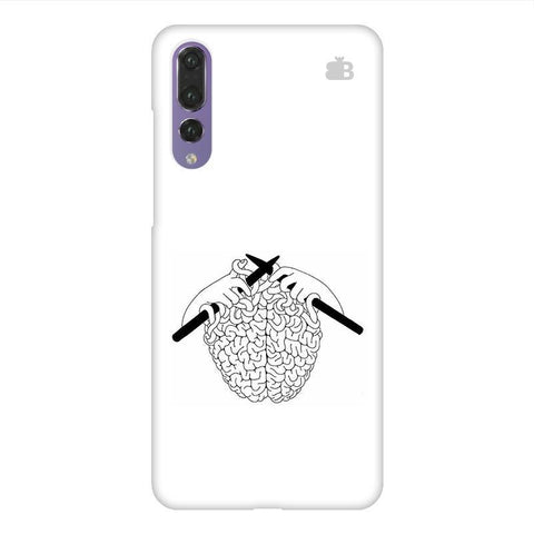 Weaving Brain Huawei P20 Design Phone Cover
