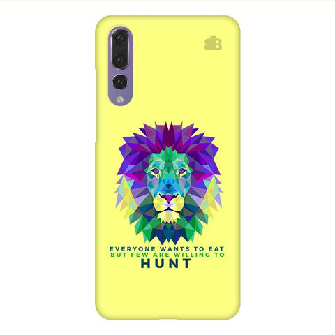 Willing to Hunt Huawei P20 Design Phone Cover