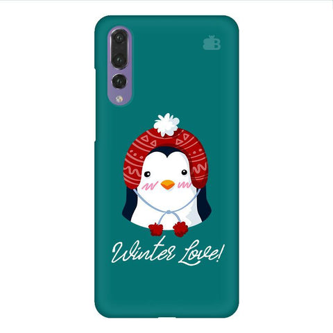 Winter Love Huawei P20 Design Phone Cover