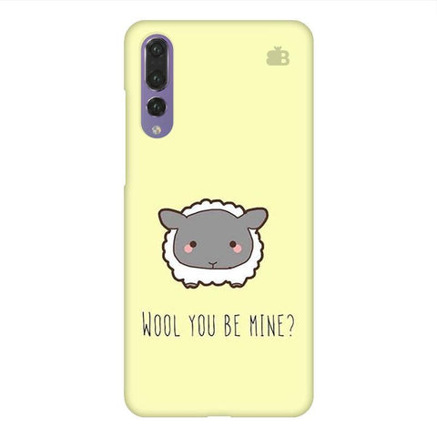 Wool Huawei P20 Design Phone Cover