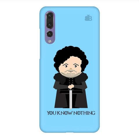 You Know Nothing Huawei P20 Design Phone Cover