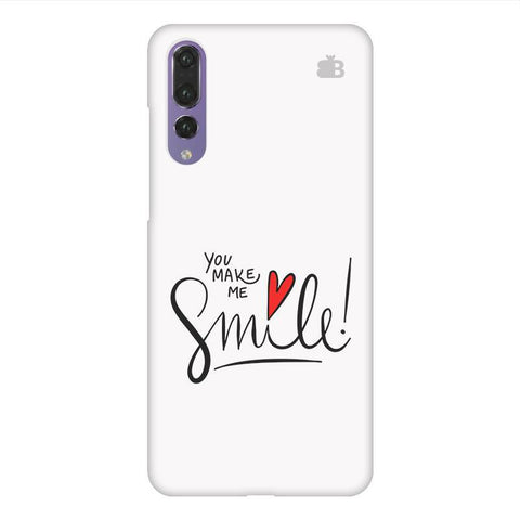 You make me Smile Huawei P20 Design Phone Cover
