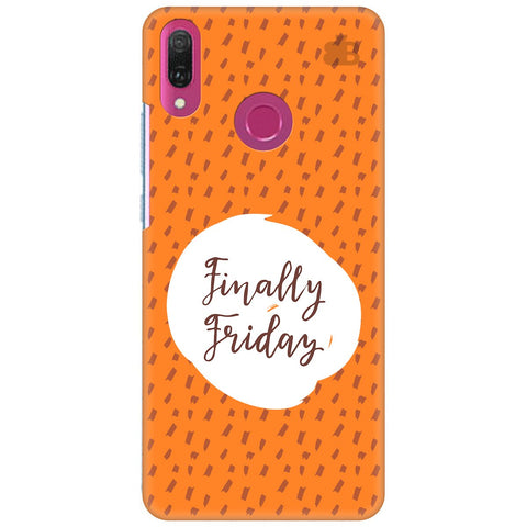 Finally Friday Huawei Y9 2018 Cover