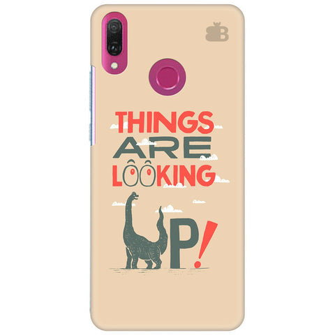 Things are looking Up Huawei Y9 2018 Cover