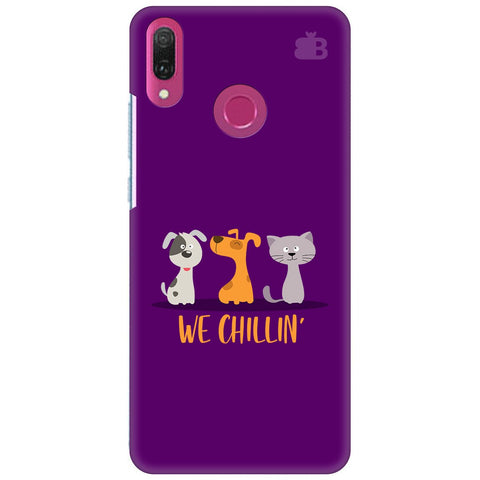 We Chillin Huawei Y9 2018 Cover