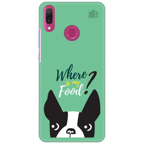 Where is my Food Huawei Y9 2018 Cover