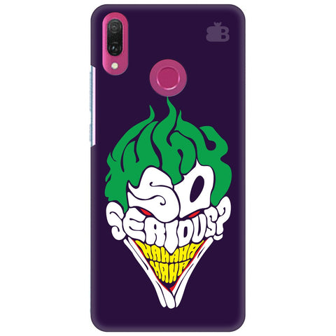 Why So Serious Huawei Y9 2018 Cover