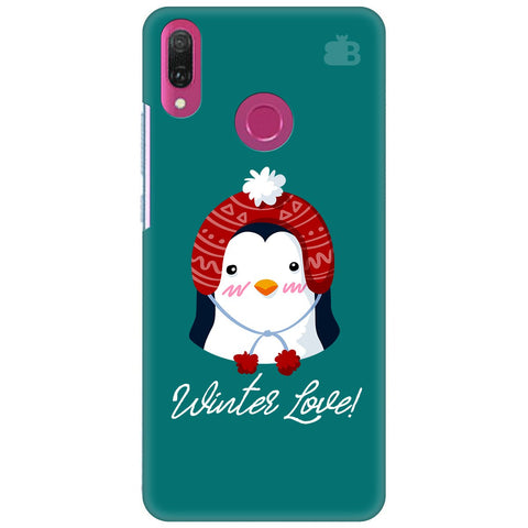 Winter Love Huawei Y9 2018 Cover