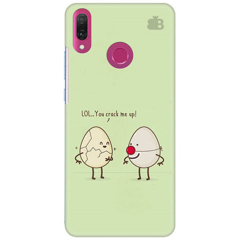You Crack me up Huawei Y9 2018 Cover
