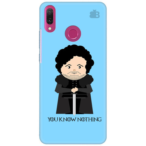 You Know Nothing Huawei Y9 2018 Cover