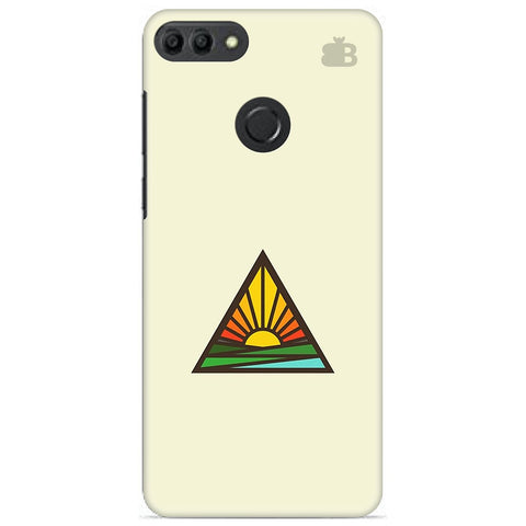 Triangular Sun Huawei Y9 2019 Cover