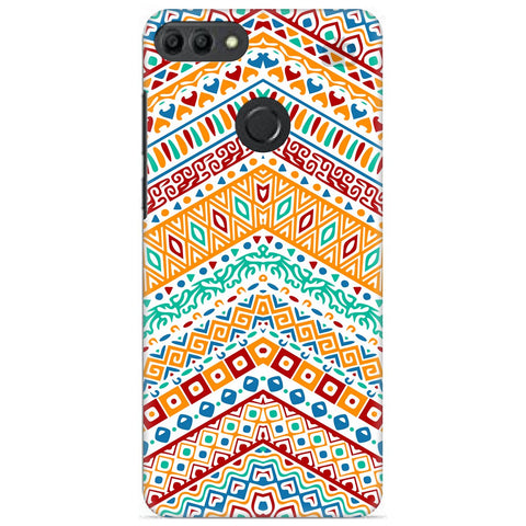 Wavy Ethnic Art Huawei Y9 2019 Cover