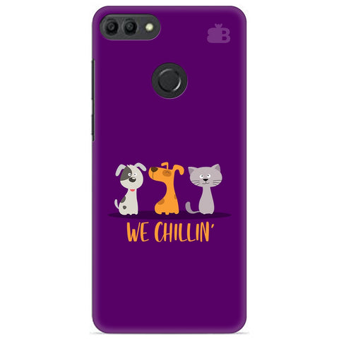 We Chillin Huawei Y9 2019 Cover