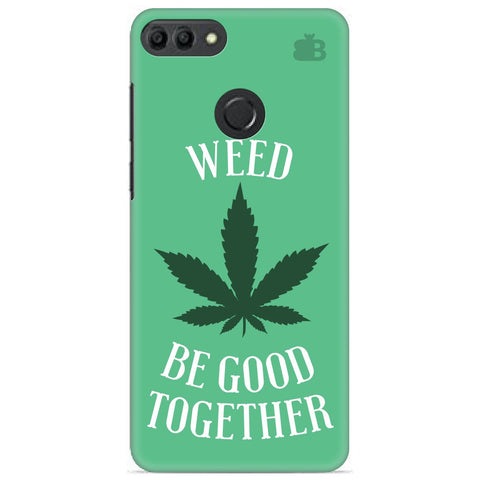 Weed be good Together Huawei Y9 2019 Cover