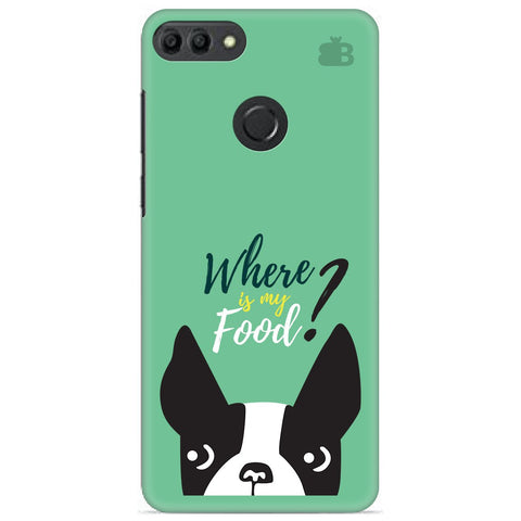 Where is my Food Huawei Y9 2019 Cover