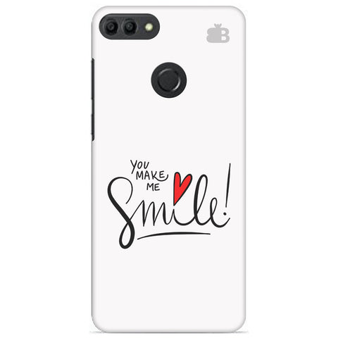 You make me Smile Huawei Y9 2019 Cover