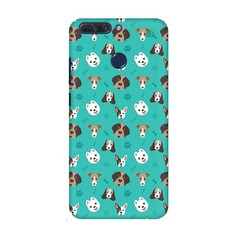 Doggie Pattern Huwaei Honor 8 Pro Phone Cover