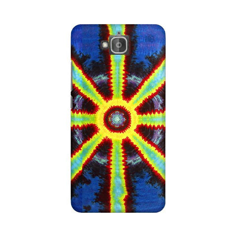 Tie & Die Pattern Huwaei Honor Holly 2 Plus Phone Cover