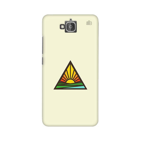 Triangular Sun Huwaei Honor Holly 2 Plus Phone Cover