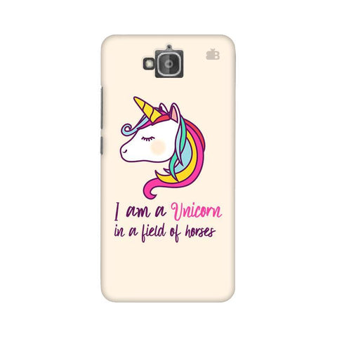 Unicorn in Horses Huwaei Honor Holly 2 Plus Phone Cover