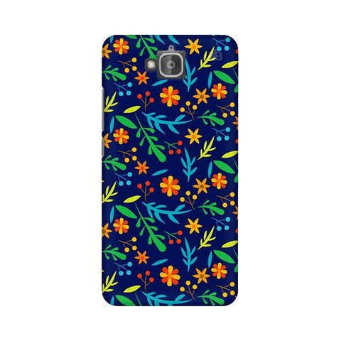 Vibrant Floral Pattern Huwaei Honor Holly 2 Plus Phone Cover