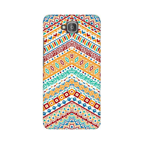 Wavy Ethnic Art Huwaei Honor Holly 2 Plus Phone Cover