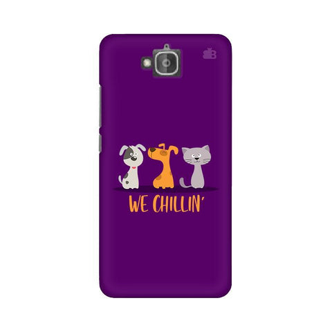 We Chillin Huwaei Honor Holly 2 Plus Phone Cover
