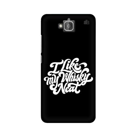 Whiskey Neat Huwaei Honor Holly 2 Plus Phone Cover